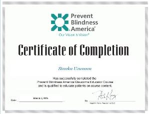 Сертификат за обучение на пациенти